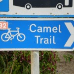 Camel Trail sign