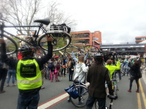 Manchester Cycle Flash Mob