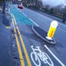 New Segregated Cycle Lane On Wilmslow Road in Manchester